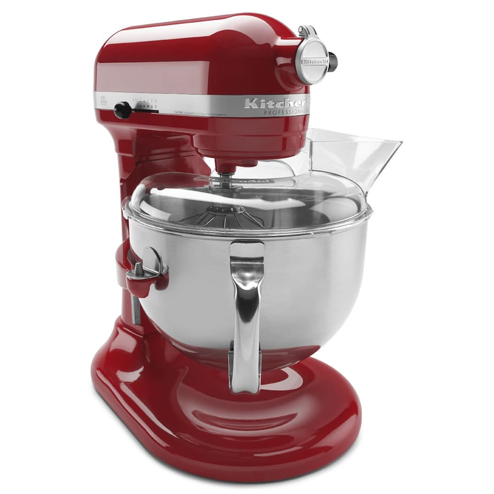Wondrous Kitchenaid Kp26M1Xer 10 Speed Stand Mixer W 6 Qt Stainless Bowl Accessories Empire Red Download Free Architecture Designs Remcamadebymaigaardcom