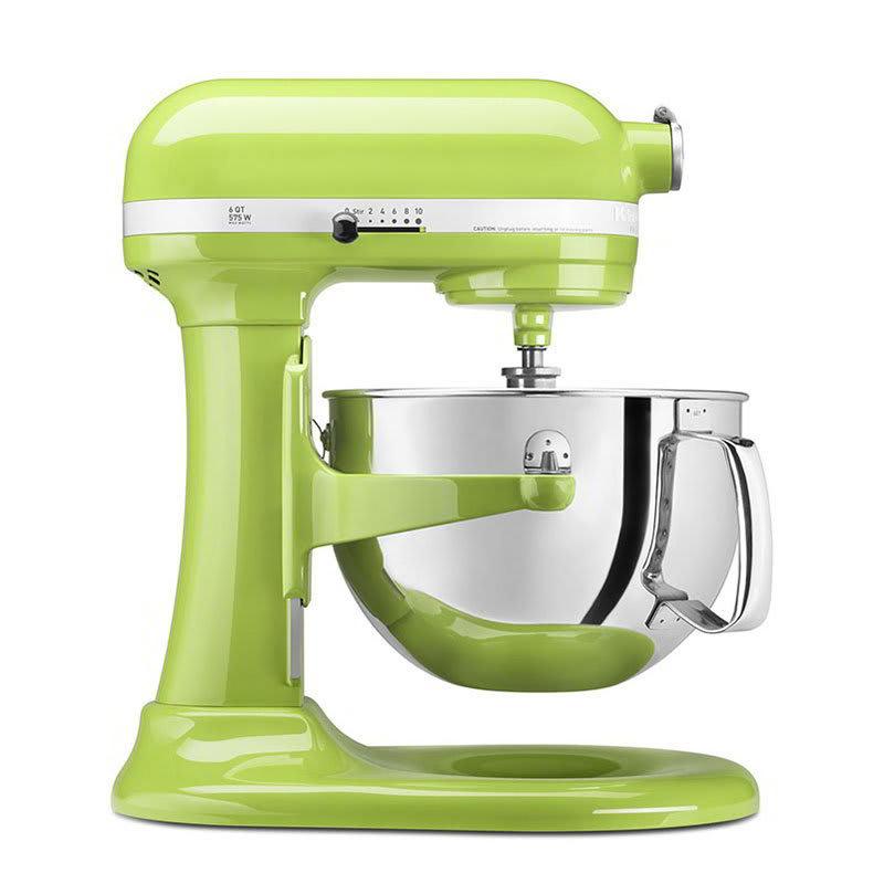 KitchenAid KP26M1XGA 10-Speed Stand Mixer w/ 6-qt Stainless Bowl & Accessories, Green Apple
