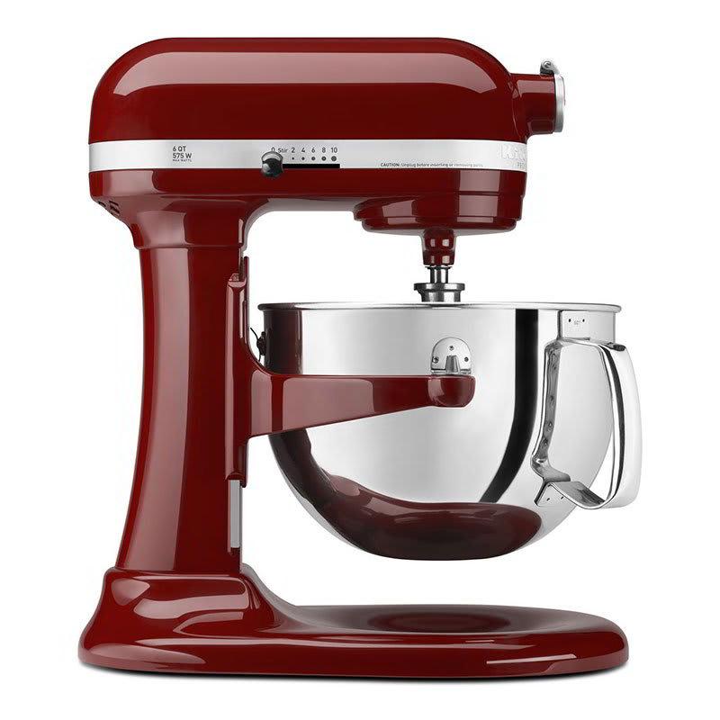KitchenAid KP26M1XGC 10 Speed Stand Mixer w/ 6 qt Stainless Bowl & Accessories, Gloss Cinnamon