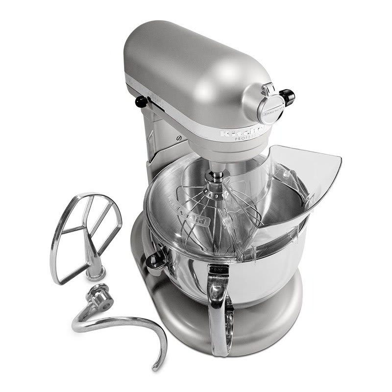 Kitchenaid Kp26m1xnp 10 Speed Stand Mixer W 6 Qt Stainless Bowl