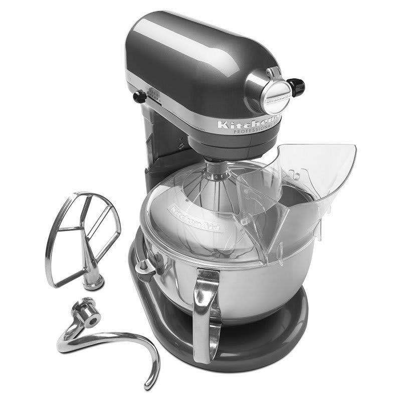 KitchenAid KP26M1XPM 10 Speed Stand Mixer w/ 6 qt Stainless Bowl & Accessories, Pearl Metallic