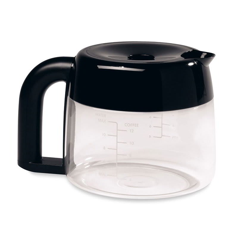 KitchenAid KPCC12 12-cup Pro Line Replacement Carafe w/ (1) Black & (1) Orange Lid