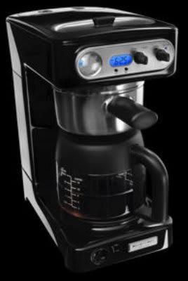 KitchenAid KPCM050OB Pro Line Series Coffee Maker, 12 Cup, Commercial  Showerhead, Onyx Black