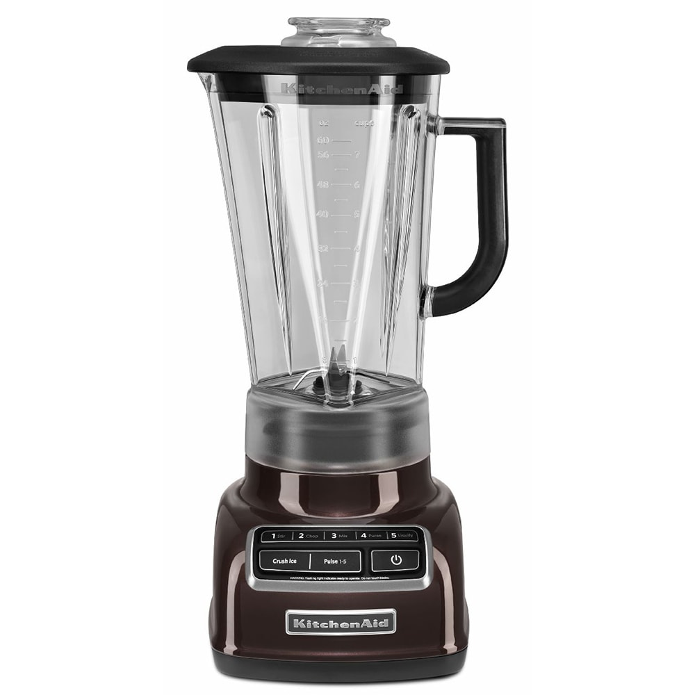 KitchenAid KSB1575ES 5 Speed Countertop Blender w/ 60 oz Pitcher, Espresso