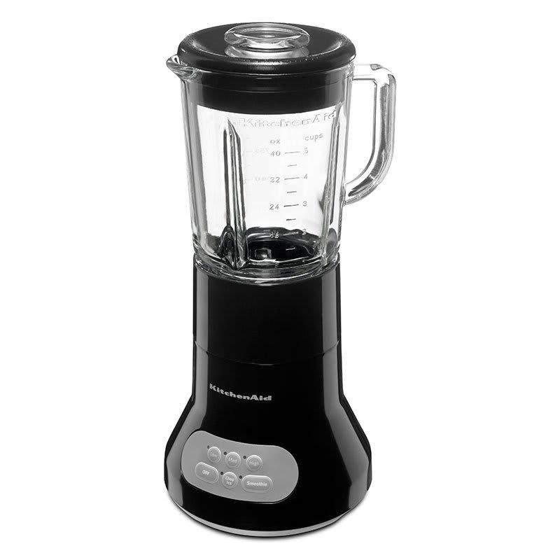 kitchenaid ksb354ob 3 speed blender 40 oz glass pitcher stainless