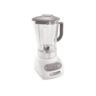 KitchenAid KSB560WH Residential Blender w/ Touch Pad, 56-oz Pitcher & 5-Speeds, White