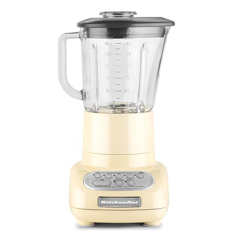 KitchenAid KSB565AC Blender w/ Touch Pad, 48-oz Pitcher & 5-Speeds, Almond Cream