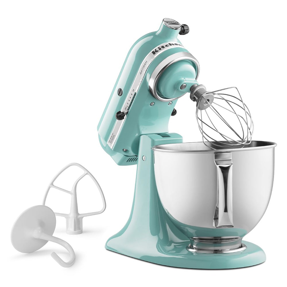 Delicieux KitchenAid KSM150PSAQ 10 Speed Stand Mixer W/ 5 Qt Stainless Bowl U0026  Accessories, Aqua Sky