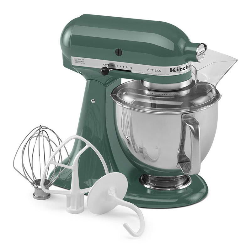 KitchenAid KSM150PSBL Artisan Series 5-Quart Mixer, 10 Speed, Bayleaf
