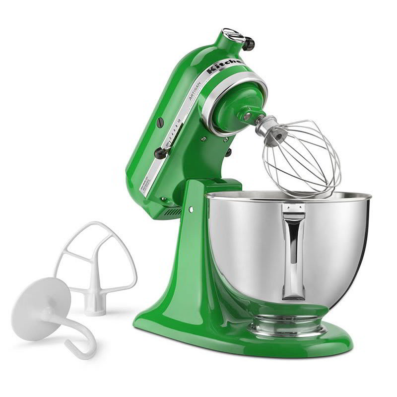 KitchenAid KSM150PSCG 10-Speed Stand Mixer w/ 5-qt Stainless Bowl & Accessories, Canopy Green