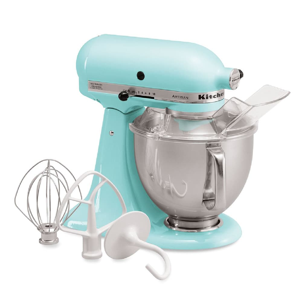 KitchenAid KSM150PSIC 10 Speed Stand Mixer w/ 5 qt Stainless Bowl ...