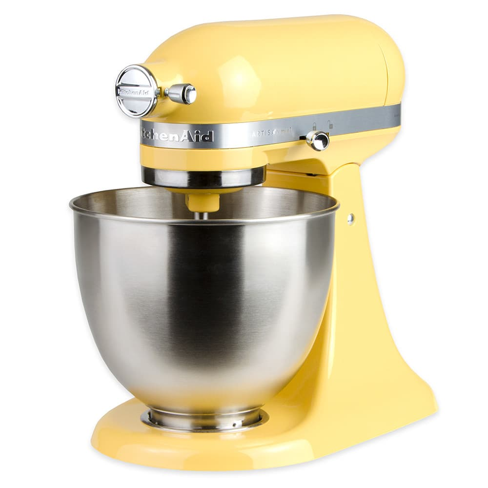 KitchenAid KSM3311XBF 10-Speed Stand Mixer w/ 3.5-qt Stainless Bowl & Accessories, Orange Sorbet