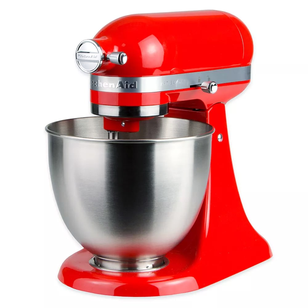 KitchenAid KSM3311XHT 10-Speed Stand Mixer w/ 3.5-qt Stainless Bowl & Accessories, Hot Sauce