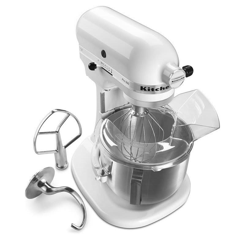 Kitchenaid Ksm500pswh Pro 500 Series Bowl Lift Mixer 5 Qt