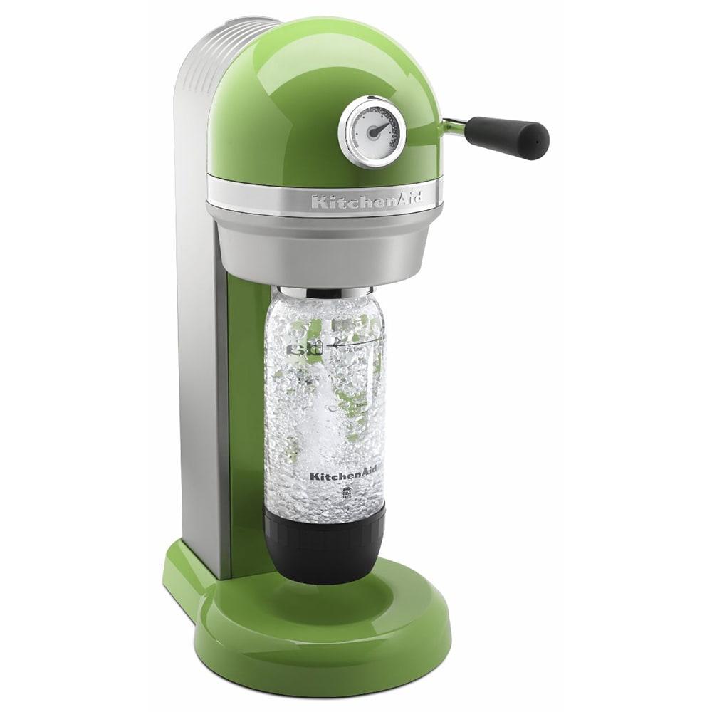 KitchenAid KSS1121GA Sparkling Beverage Maker powered by Soda Stream®, Green Apple