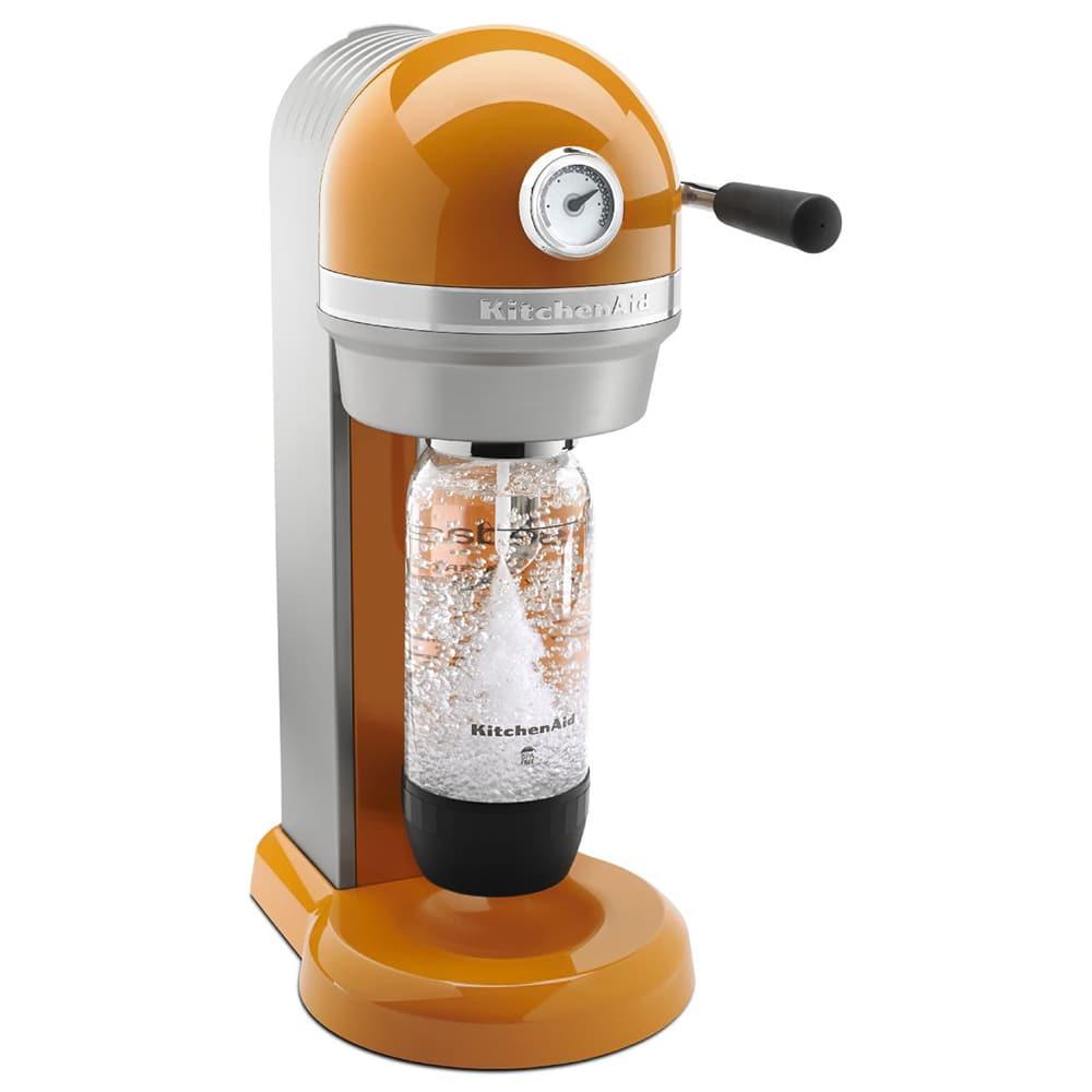 KitchenAid KSS1121TG Sparkling Beverage Maker powered by SodaStream®, Tangerine