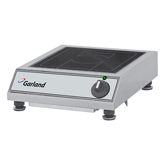 Garland BHBA1800 Countertop Commercial Induction Cooktop w/ (1) Burner, 120v