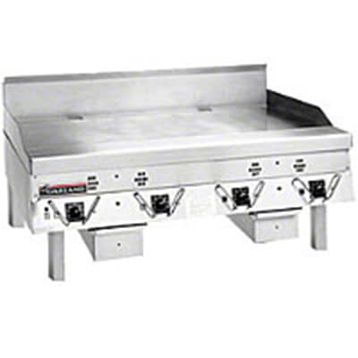 """Garland CG-60F 2201 60"""" Gas Griddle - Thermostatic, 1"""" Steel Plate, 220v/1ph"""