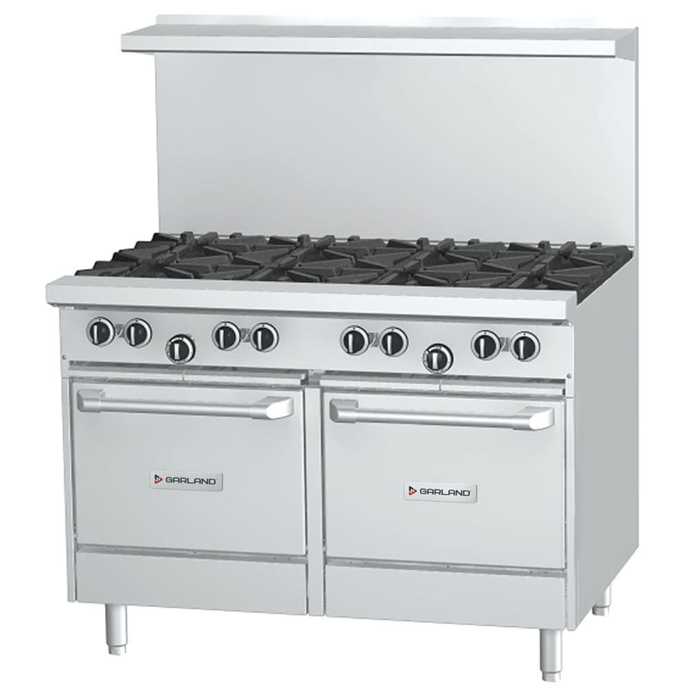 "Garland G48-6G12LL 48"" 6 Burner Gas Range with Griddle, NG"