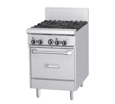 "Garland GF24-2G12T 24"" 2-Burner Gas Range with Griddle, LP"