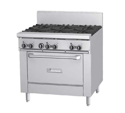 "Garland GF36-6T 36"" 6 Burner Gas Range, LP"