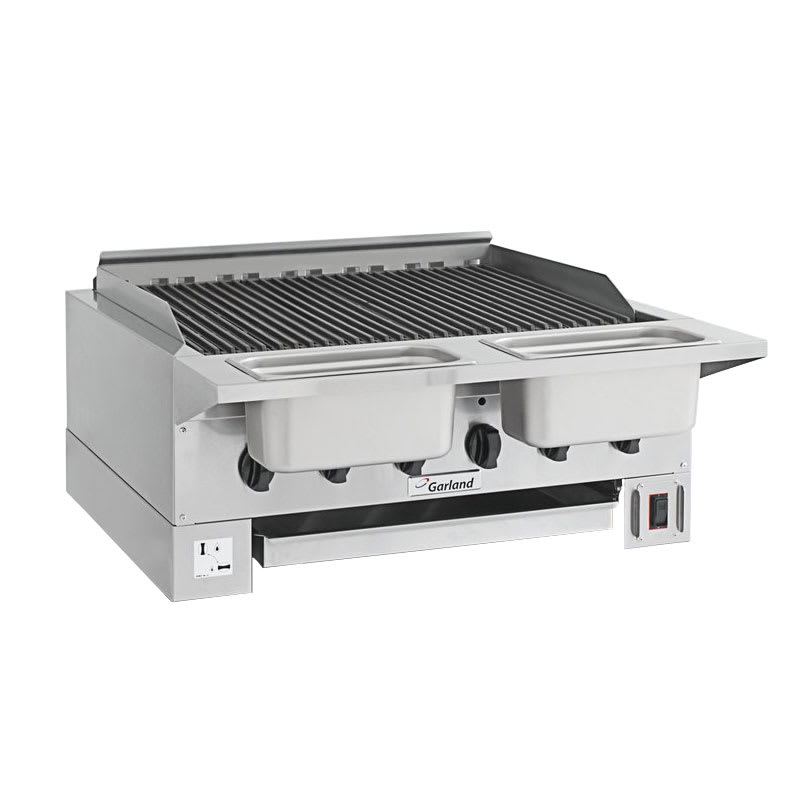 "Garland HEEGM36CL High Efficiency Broiler w/ Removable Cast Iron Grates, 30.13x23.5"" Grill, LP"