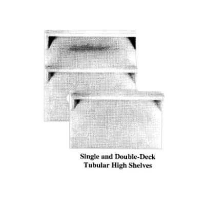 "Garland M17DD Master Series Double Deck High Shelf, 34-1/2""H x 17""W, Stainless"