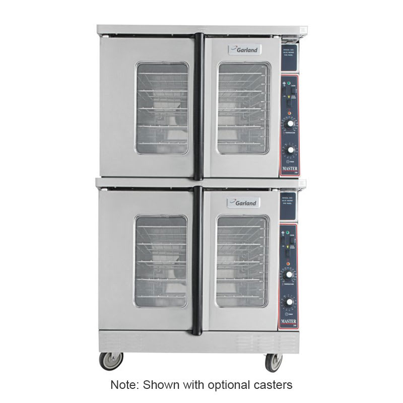 Garland MCO-GS-20-S Master Double Full Size Natural Gas Convection Oven - 120,000 BTU