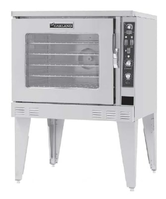Garland MP-ES-10-S Single Full-Size Electric Convection Oven - 208v/1ph