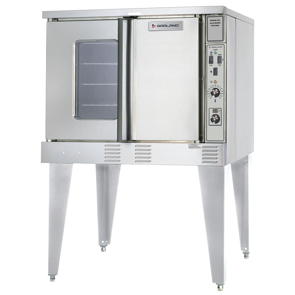 Garland SUMG-100 Summit Single Full Size LP Gas Convection Oven - 53,000 BTU