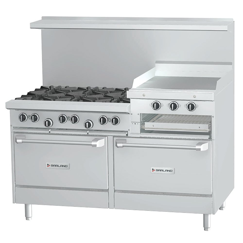 "Garland U36-4G12R 36"" 4 Burner Gas Range with Griddle, NG"