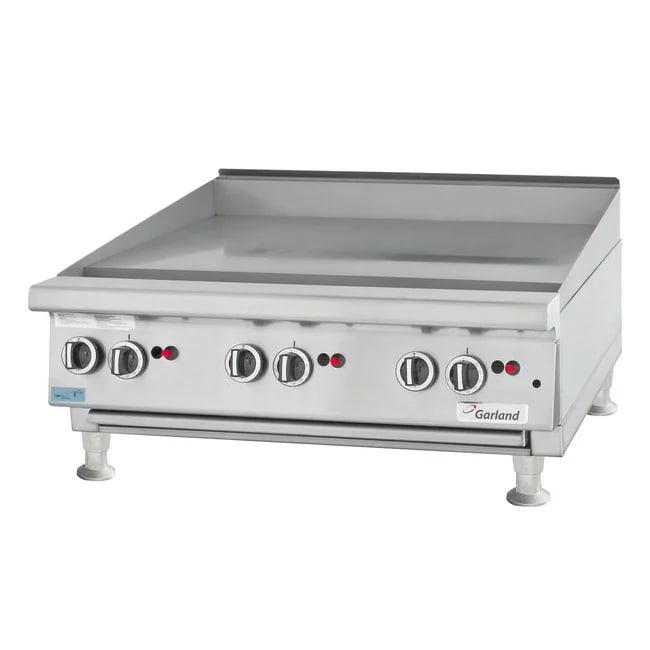 "Garland UTGG60-GT60M 59"" Gas Griddle - Thermostatic, 1"" Steel Plate, LP"