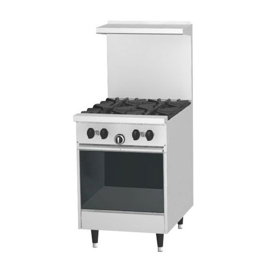 "Garland X24-4S 24"" SunFire4 Burner Gas Range w/ Storage Base, LP"