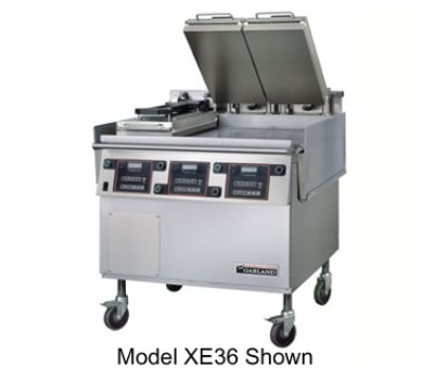 """Garland XE36 36"""" Electric Griddle - Thermostatic, 3/4"""" Steel Plate, 208v/3ph"""