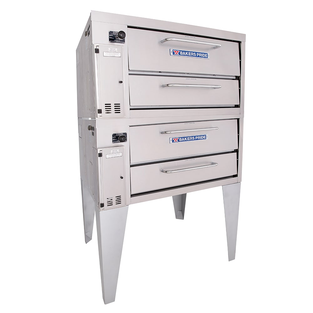 Bakers Pride 252 Double Pizza Deck Oven, NG