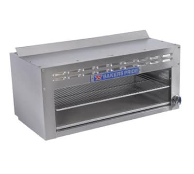 "Bakers Pride BPCMI-24 24"" Gas Cheese Melter w/ Infrared Element, Stainless, LP"