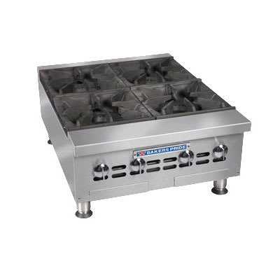 "Bakers Pride BPHHP-636I 36"" Gas Hotplate w/ (6) Burners & Manual Controls, NG"