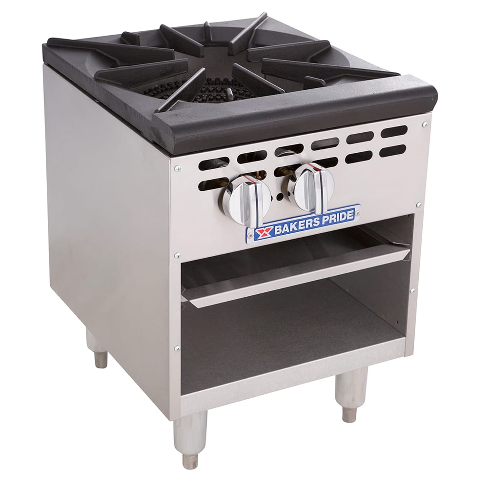 Bakers Pride BPSP-18-2 1-Burner Stock Pot Range, LP
