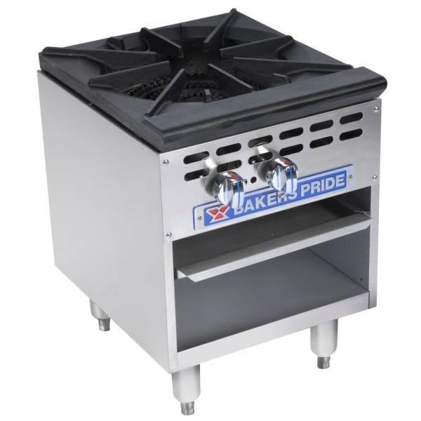 Bakers Pride BPSP-18J-16 1-Burner Stock Pot Range, NG