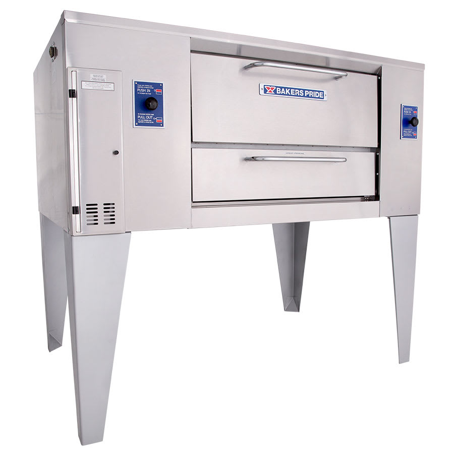 Bakers Pride D-250 Multi Purpose Deck Oven, NG