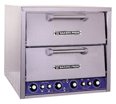Bakers Pride DP-2 Countertop Pizza Oven - Double Deck, 220-240v/1ph