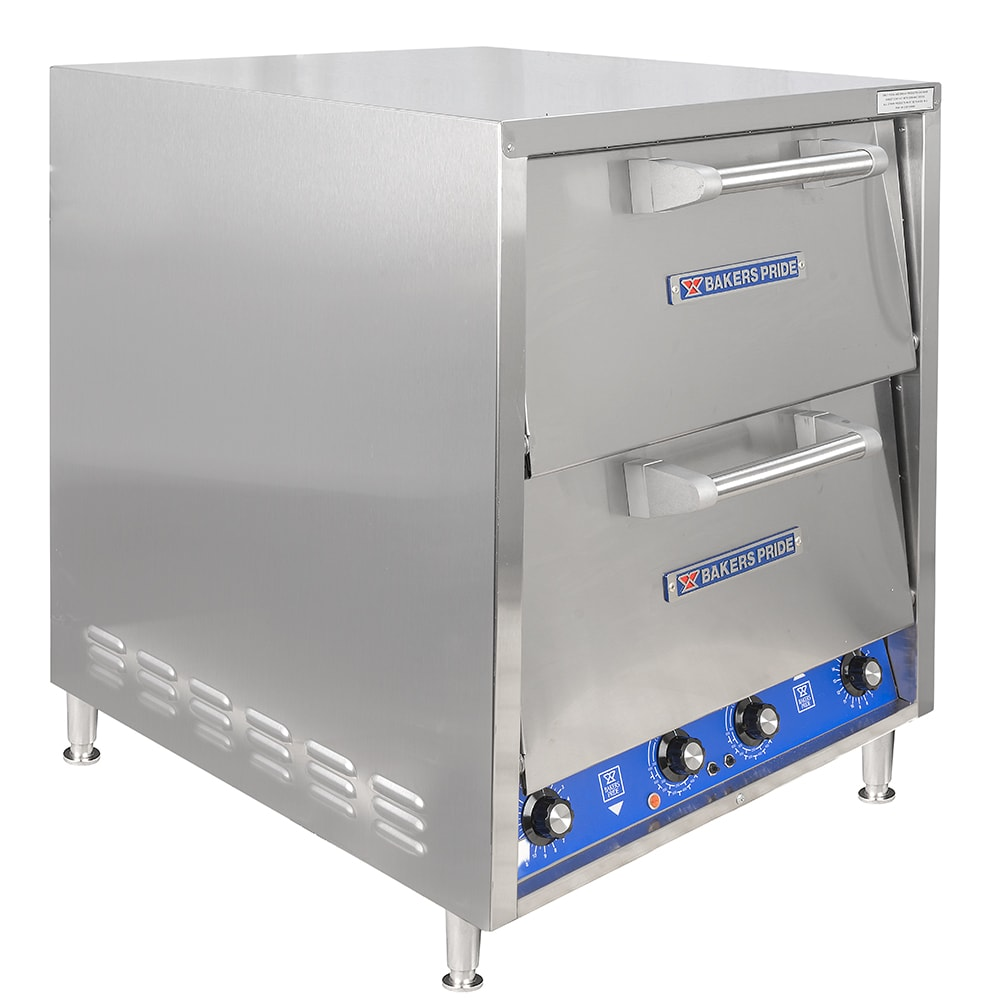 Bakers Pride DP-2BL Countertop Pizza Oven - Double Deck, 208v/1ph