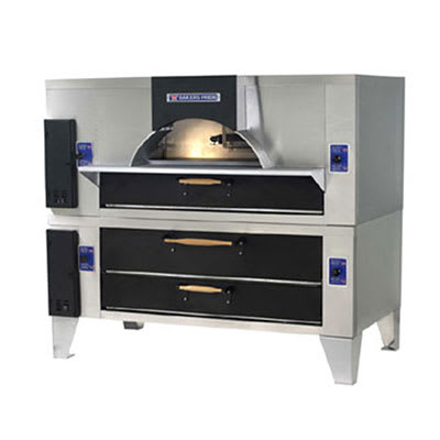 Bakers Pride FC-516/DS-805 Gas II Forno Stone Deck Oven - Ceramic/Stainless, NG