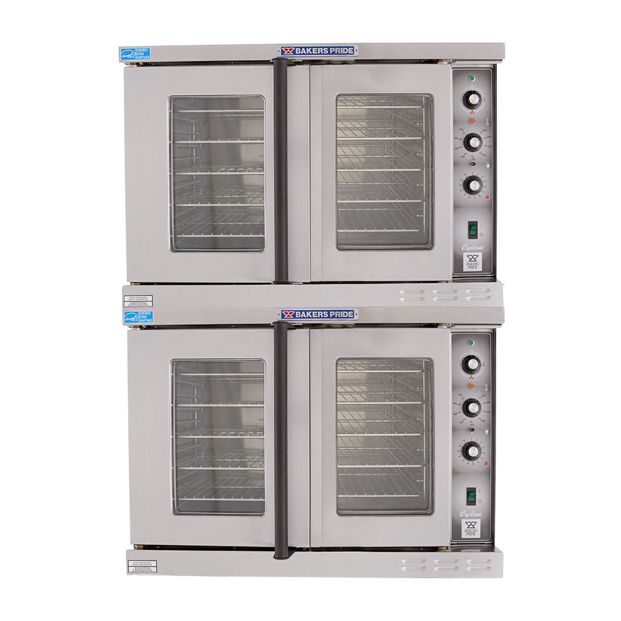Bakers Pride GDCO-E2 Double Full Size Electric Convection Oven - 240v/1ph