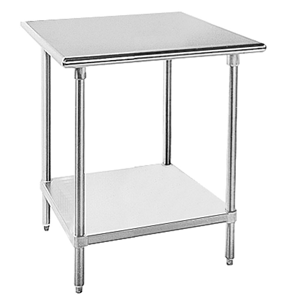 "Bakers Pride HDS-30C Heavy-Duty Equipment Stand, 30 x 30"", Casters"