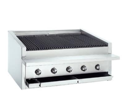 "Bakers Pride L-36R 36"" Low Profile Countertop Charbroiler, Radiant, LP"