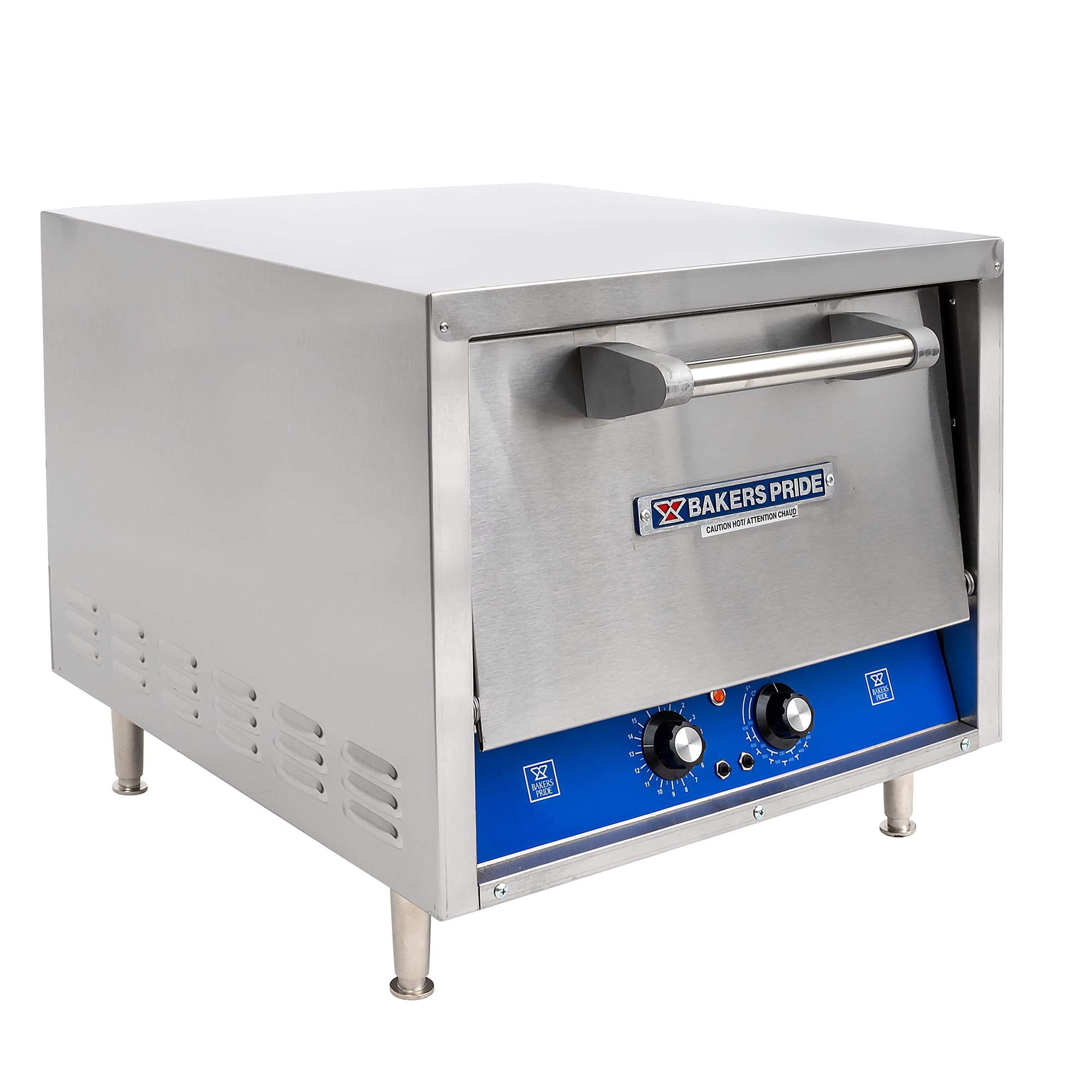 Bakers Pride P18S Countertop Pizza/Pretzel Oven - Single Deck, 220-240v/1ph