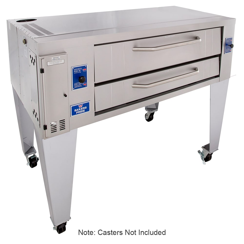 Bakers Pride Y-600BL Pizza Deck Oven, NG