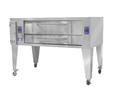 Bakers Pride Y-800 Pizza Deck Oven, NG