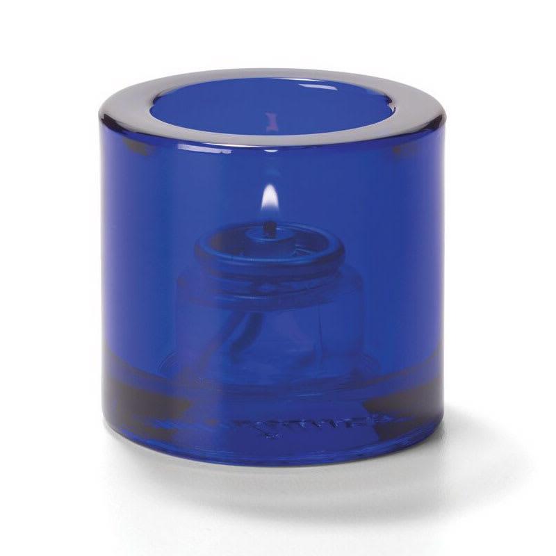 """Hollowick 5140CBL Tealight Glass Lamp, Cobalt Blue, Thick Glass, 2-7/8""""H x 2-3/4""""dia."""